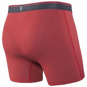 Saxx Underwear Vêtements intérieurs Quest Brief Fly - Red - Taille XL