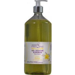 Freesens Gel douche surgras sans savon visage corps et cheveux 1 L