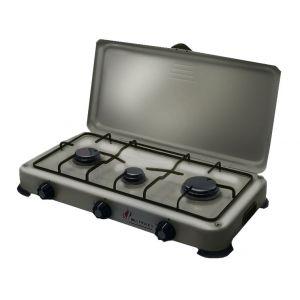 9c277b389b5a5e Proweltek Plaque de cuisson gaz portable 3 feux 4100W