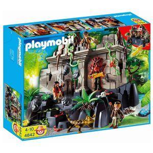 Image de Playmobil 4842 - Temple du trésor avec gardiens