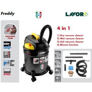 Lavor FREDDY - Aspirateur 4 en 1 (cendre, poussière , eau et fonction soufflerie) 20L