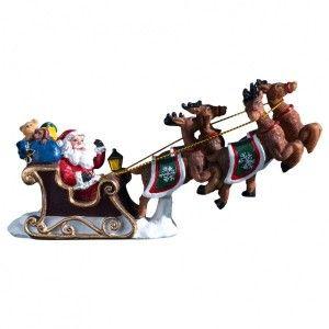 Figurine Traineau du Père Noël