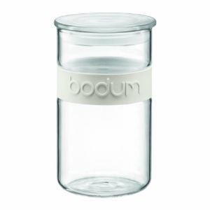 Bodum Bocal Presso en verre avec bandeau silicone (1 L)