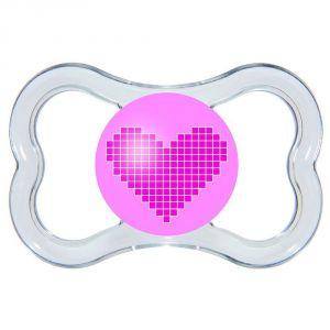 Mam Sucette Air en silicone avec boîte stérilisable (6 mois +)