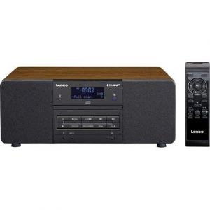 Lenco DAR-050 - Radio de bureau DAB+ CD, USB, AUX