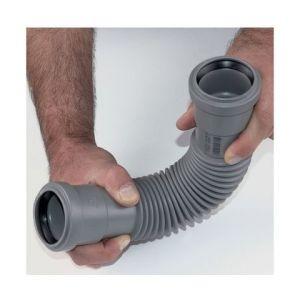 GIRPI Manchette flexible universelle à joint ou à coller PVC FF - MF - MM (40) - Ø mm : 40 -