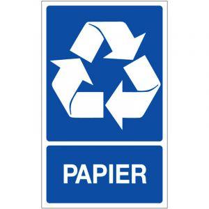 Novap Panneau de recyclage papier - 330 x 200 mm