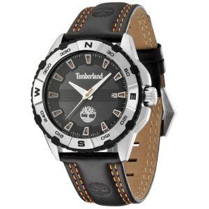 Timberland T13897JS - Montre pour homme avec bracelet en cuir