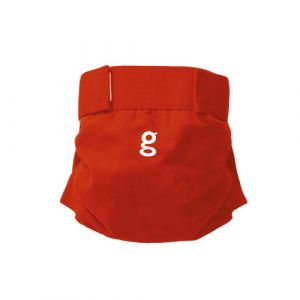 gDiapers Culotte Little gPant taille M - Good Fortune Red