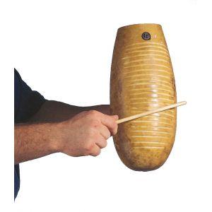 Latin Percussion Guiro cubain LP 249 en bois de calebasse