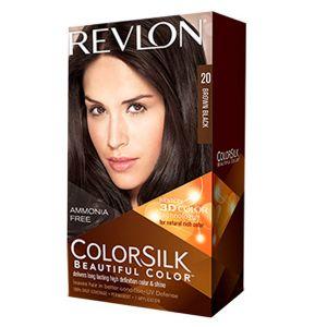 Revlon Silk Beautiful  Hair Color - Brown Black