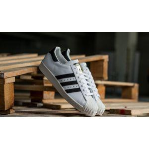 Adidas Superstar 80s chaussures blanc noir 45 1/3 EU