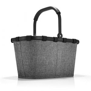 Reisenthel Carrybag Frame Twist Silver Cabas de Fitness 48 Centimeters 22 Gris
