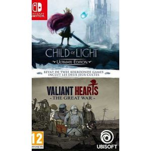 Compilation Child of Light + Valiant Hearts [Switch]