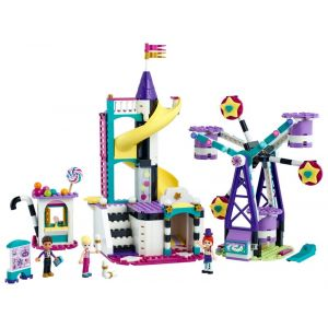 Lego La grande roue et le toboggan magiques