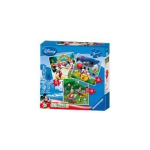 Ravensburger Mickey et ses amis : Mickey Mouse Clubhouse - 3 puzzles 25,36 et 49 pièces