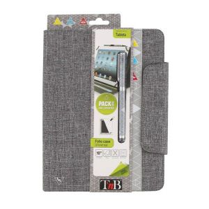 """T'nB Etui Folio Hipster + stylet  pour Tablette 10"""""""