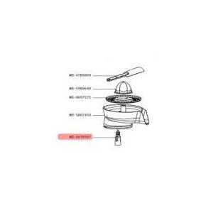 Moulinex MS-0678707 - Arbre de transmission pour robot de cuisine