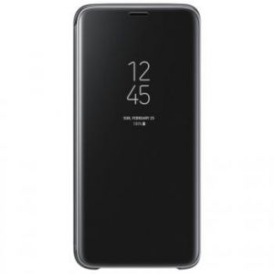 Samsung Clear View Cover Noir Galaxy S9