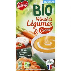 Liebig Soupe Velouté légumes et crème BIO