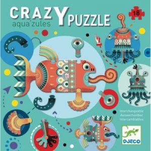 Image de Djeco Puzzle Geant - Crazzy Puzzle - Aqua'Zules