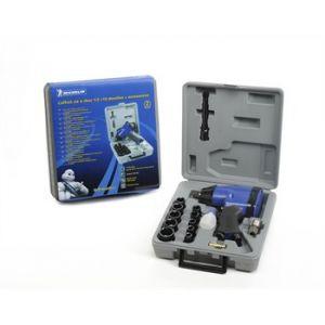 Michelin Coffret d'outillage clé à choc carré de 1/2'' + douilles et accessoires