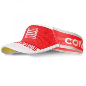 Compressport Ultralight Visor Bandeau avec Visière Taille Unique Rouge