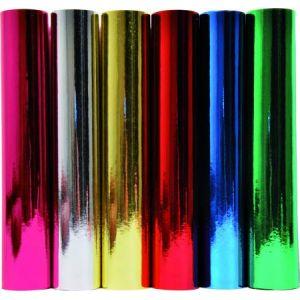 Clairefontaine Rouleau 2x0,7m de papier métal une face coloris rose