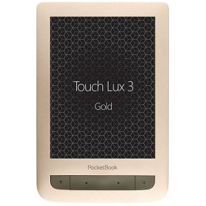 "PocketBook Touch Lux 3 - Liseuse 6"" E-Ink Pearl HD 4 Go"