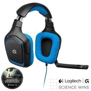 Logitech G430 - Casque-micro Gamer Surround 7.1