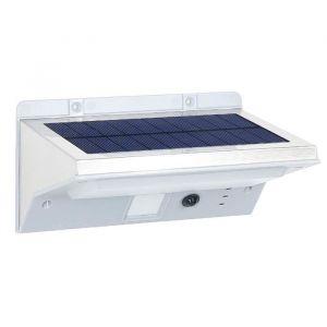 Lumisky Spot solaire mural extérieur étanche avec détecteur 21 LEDs - 330 Lm - Pivotante à 120°C