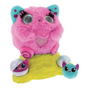 Goliath Peluche interactive Nestlings - Rose