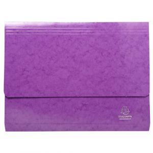 Exacompta 6526Z - Chemise poche IDERAMA, coloris violet