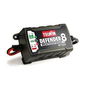 Telwin Chargeur et mainteneur de batterie intelligent Defender 8 - batterie au Plomb 6/12V