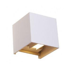 Vision-El Applique Murale X37 LED 7 Watt 230V IP54 - Couleur - Blanc neutre 4000°K, Finition - Blanc