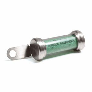 Chaft Porte Assurance Porte Vignette Tube Silver