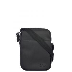 Lacoste Sac Homme Access Premium, Porté Épaule, Noir