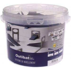 Outibat Croisillon auto-nivelant - Largeur 2 mm - Vendu par 200