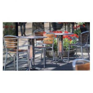 Vireo R70B - Table chauffante infrarouge pour l'extérieur