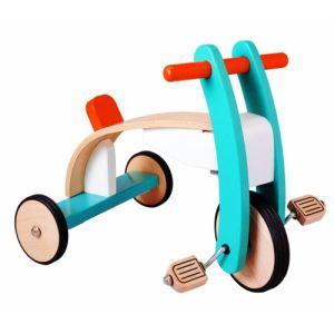 Plan Toys Tricycle à pédales en bois