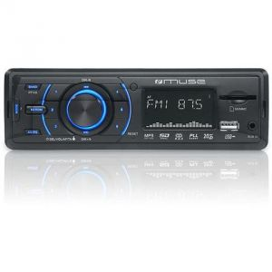 Muse M-090 MR - Autoradio MP3/SD/USB (4 x 20 Watts)