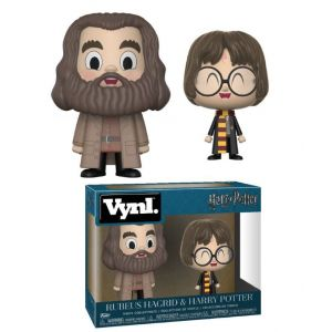 Funko Figurine Harry Potter : Pack Harry & Hagrid Vynl