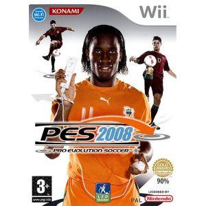 PES 2008 : Pro Evolution Soccer [import anglais] [Wii]