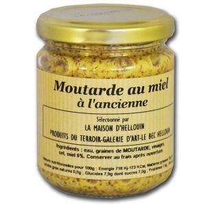 Mon epicerie fine de teroir Moutarde à l'ancienne au Miel
