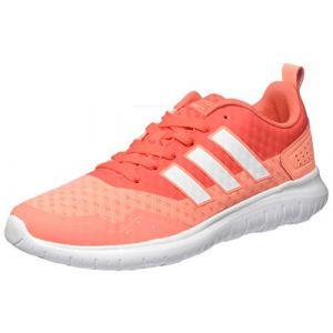 Adidas Cloudfoam Lite Flex W, Sneakers Basses Femme, Rose
