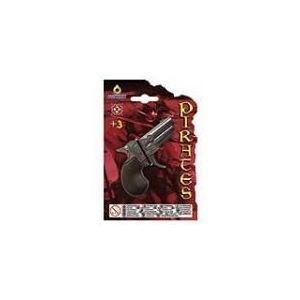 Gonher Mini pistolet de pirate en métal et plastique