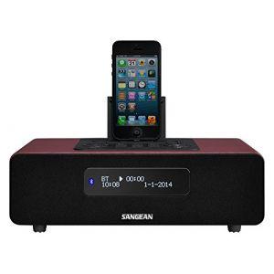 Sangean DDR-38 - Radio numérique de table DAB+ / FM-RDS Bluetooth Aux-in Compatible iPhone iPad iPod