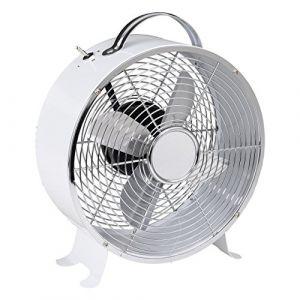 9178 - Ventilateur de table blanc 20 watts