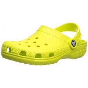 Crocs Classic Clog, Sabots Mixte Enfant, Vert (Citrus) 24/25 EU