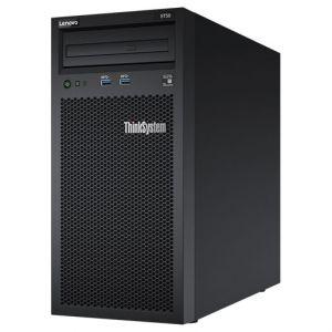 Lenovo ThinkSystem ST50 7Y48 - Serveur - tour - 4U - 1 voie - 1 x Xeon E-2124G / 3.4 GHz - RAM 8 Go - HDD 2 x 2 To - graveur de DVD - UHD Graphics P630 - GigE - Aucun SE fourni - moniteur : aucun